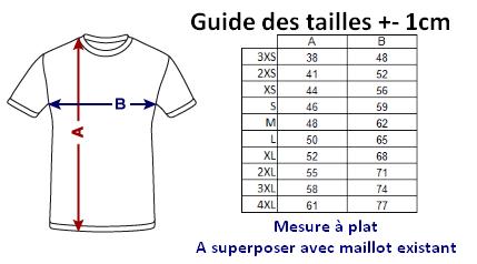Guide des tailles ALEOW